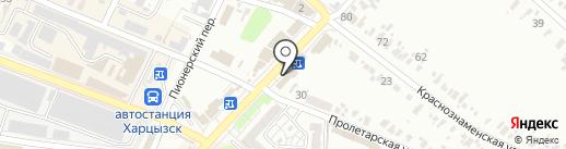 Восток, декор центр на карте Харцызска