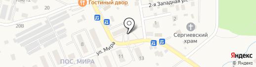 Магазин социального обслуживания на карте Кратово