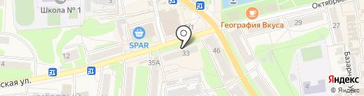 City Мебель на карте Узловой