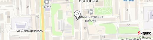 Эдельвейс на карте Узловой