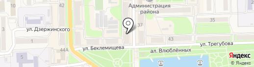 Спринтер на карте Узловой