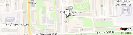 Ниагара на карте Узловой