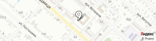 Велес, торговый дом на карте Харцызска