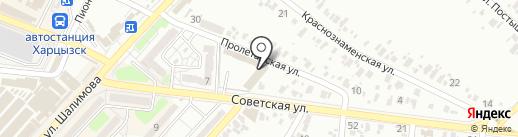 Восток, строительный универмаг на карте Харцызска