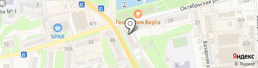 Лакросс на карте Узловой