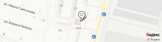 Компания по автострахованию на карте Узловой