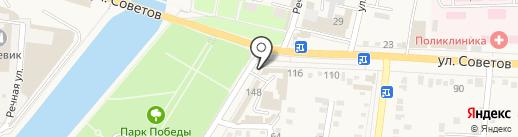 Мебельный салон на карте Абинска