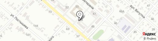 Отделение связи №4, г. Харцызск на карте Харцызска