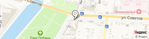 Медицинский кабинет на карте Абинска