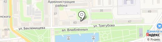 Узловская городская центральная библиотека на карте Узловой