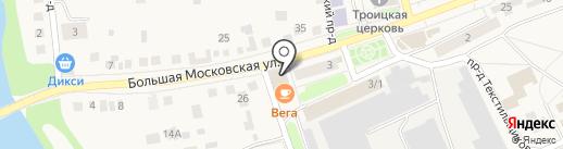 Банкомат, Сбербанк, ПАО на карте Старой Купавны