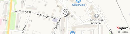 Валл-и на карте Узловой