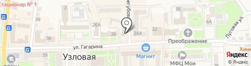 Любимый на карте Узловой