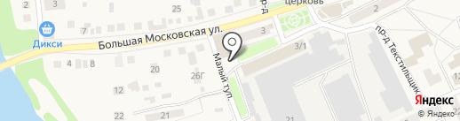 Вега на карте Старой Купавны