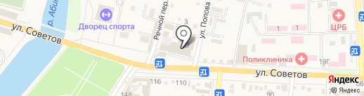 Авторемонт на карте Абинска