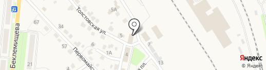 РГК-Арсеньево на карте Узловой