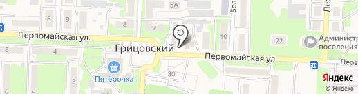 Дикси на карте Грицовского