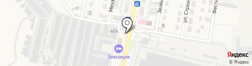 Сеть магазинов автотоваров на карте Узловой