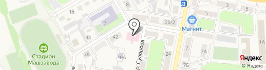 Детская городская поликлиника №2 на карте Узловой