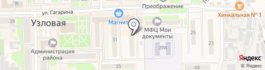 Усадьба на карте Узловой