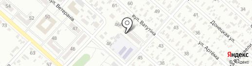 Анастасия на карте Харцызска