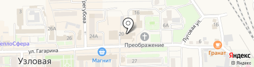 Gala Nail на карте Узловой