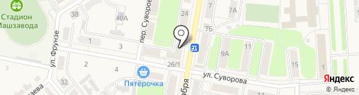 Компьютерный центр на карте Узловой
