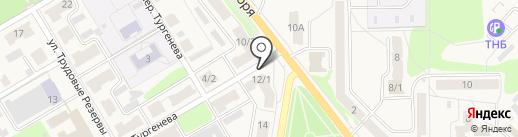 Адвокатский кабинет Лобастова Ю.Ф. на карте Узловой