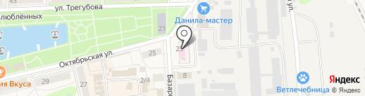 Узловская районная больница на карте Узловой
