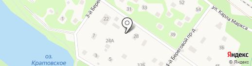 Кратовская амбулатория на карте Кратово
