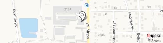Бонус Строй на карте Абинска