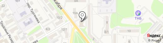 Спутник на карте Узловой