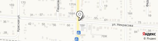 Карат-М на карте Абинска