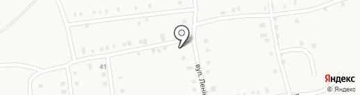 Продовольственный магазин на карте Нижней Крынки