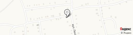 Продовольственный магазин, СПД Петренко О.И. на карте Нижней Крынки