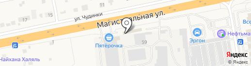 Магазин фастфудной продукции на карте Старой Купавны