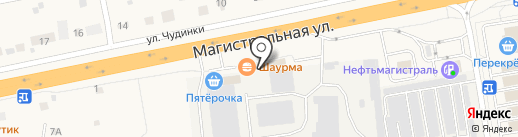 Магазин мясной продукции на карте Старой Купавны