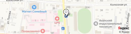 Лиза на карте Абинска
