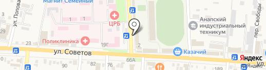 Скан-Фо на карте Абинска