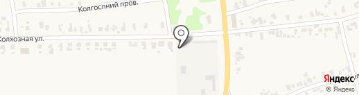 СООО им. 118-ти на карте Нижней Крынки