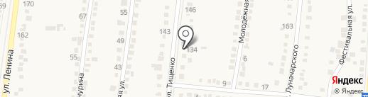 Александр и Я на карте Абинска