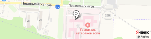 Тульский областной госпиталь ветеранов войн и труда на карте Грицовского