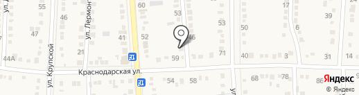СТО на карте Абинска