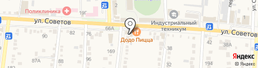 Банкомат, Юго-Западный банк Сбербанка России на карте Абинска