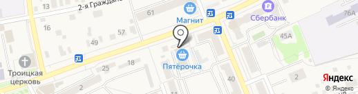 МТС на карте Старой Купавны