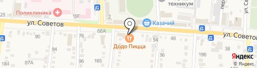 ДоДо пицца на карте Абинска
