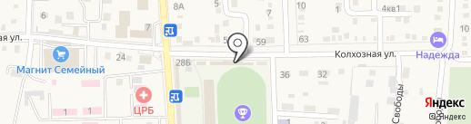 Салон красоты на карте Абинска