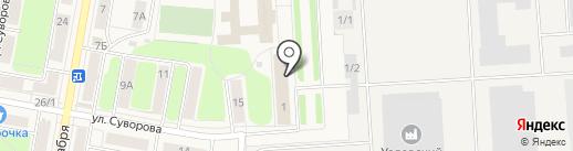 Столовая на карте Узловой