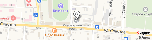 Анапский индустриальный техникум на карте Абинска