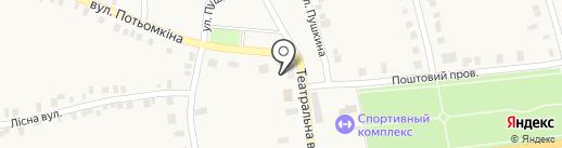 ОЩАДБАНК, ПАО на карте Нижней Крынки